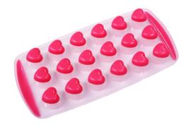 plastic / rubber mal voor melts - hartjes - ZMR045