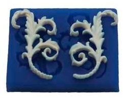 - SALE - First Impressions - Mold - Decorations - Embellishment 4 - ES104