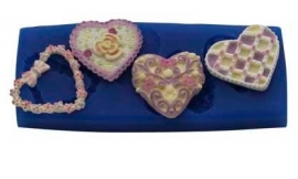 - SALE - First Impressions - Mold - Hearts Set - 2 - H125
