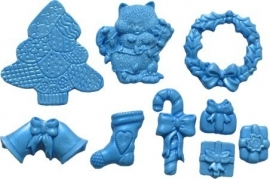 - SALE - First Impressions - Mold - Christmas - Christmas Set 2 - SE264
