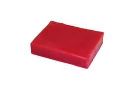 Glycerin soap - Christmas Red - 100 grams - GLY111