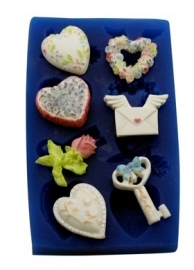 - SALE - First Impressions - Mold - Valentine's Day - Valentine's Set 3 - SE294
