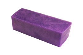 Glycerin soap - Purple - 1.2 kg - GLY239 - pearlescent
