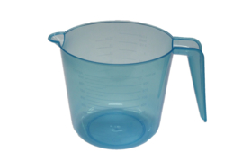 plastic measuring cup - supple - blue - 1.000 ml - MEM18
