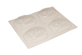 Soap mold - Christmas - Handsoap with Christmas tree - 4 units - ZMP056