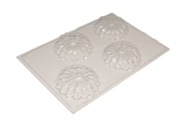 zeepmal - bloem - 4 stuks - ZMP004