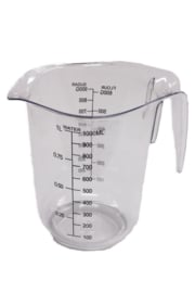 plastic measuring cup - hard - 1.000 ml - MEM13