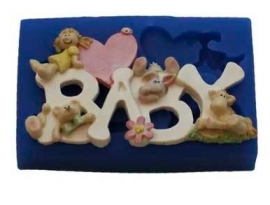 - SALE -  First Impressions - Mold  - Baby - Baby Girl - B225