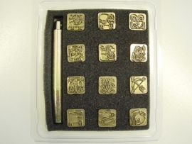 Soap stamp set - zodiac  - small - ZES009