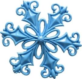 - AANBIEDING - First Impressions - Mal - Kerstmis - filigraan sneeuwvlok - SE295
