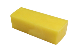Glycerin soap - Bright Yellow - 1.2 kg - GLY236 - pearlescent