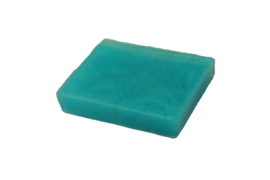 Glycerin soap - Turquoise  - pearlescent - 100 grams - GLY152