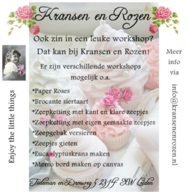 -                         Kransen en Rozen -  Entrepreneur of the month May 2015