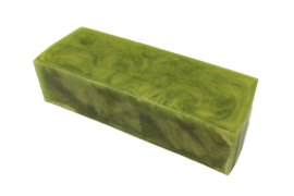 Glycerin soap - Green Olive -1,2 kg - GLY260 - pearlescent