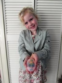 - WINNAAR Jury - Prijs: Koopdoos zeep + badkaviaar voor 4 kinderen - 027. Lysanne uit Julianadorp - P1788