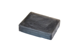 Glycerin soap - Steel Grey  - pearlescent - 100 grams - GLY163
