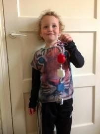 - Winnaar Jury - Prijs: Koopdoos zeep + bk voor 8 kinderen - 009. Demi uit Hoedekenskerke - P4433