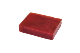 Glycerin soap - Wine Red - 100 grams - GLY165 - pearlescent