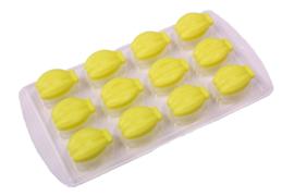 rubber / plastic mal  - bananen / tulpen - ZMR031