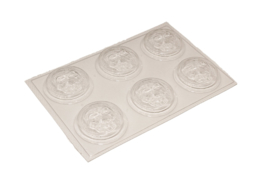 Soap mold - Halloween Skull - 6 units - ZMP013