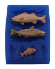 - SALE - First Impressions - Mold - Animals Set - fish - A206