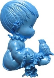 - SALE - First Impressions - Mold - Baby - with bird - B195
