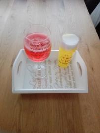 002. Elles uit Velp - Jubileumgeschenk - Glazen gevuld met zeep