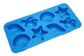- NEW - rubber mold - sea life - ZMR057