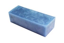 Glycerinezeep - Licht Blauw - 1.2 kg - GLY237 - parelmoer