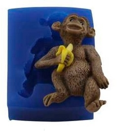 - SALE - First Impressions - Mold  - Animals - Monkey - A285