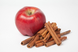 Fragrance oil for cosmetics / soaps / melts - Apple & Cinnamon - GOS413