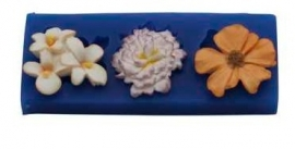- SALE -  First Impressions - Mold  - Flowers Set - medium 4 - FL308