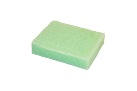 Glycerin soap - Candy Crush - Green pastel  - 100 grams - GLY171