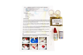 starter package - create lip balm - basic - 100% natural