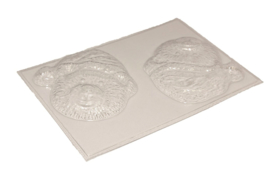 Soap mold - Christmas - Teddy - 2 units - ZMP054