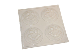 Soap mold - Smiley - 4 units - ZMP040