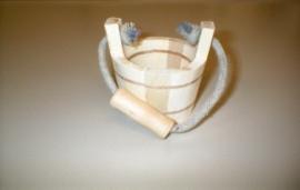 Wooden mini-bucket - OVV03