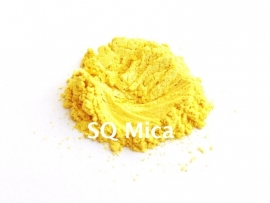 SQ Mica - Bright Yellow - KNM008