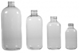 Bottle - PET - round - clear - FKD07