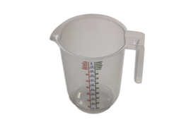 plastic measuring cup - 1.000 ml - MEM10