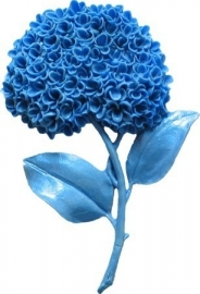 - SALE -  First Impressions - Mold  - Flowers -  hydrangea - FL300