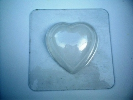 Bath Bomb mold - heart - small - BMP05