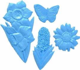 - SALE -  First Impressions - Mold  - Flowers Set - summer - FL290