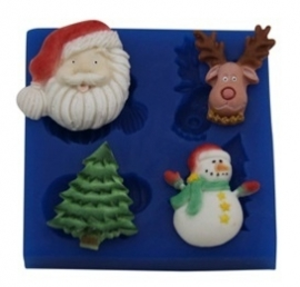 - SALE - First Impressions - Mold - Christmas - Christmas Set 1 - SE263