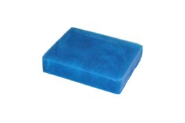 Glycerin soap - Cobalt Blue  - pearlescent - 100 grams - GLY131