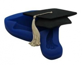 - SALE - First Impressions - Mold - Diverse - Graduation Cap - MN298