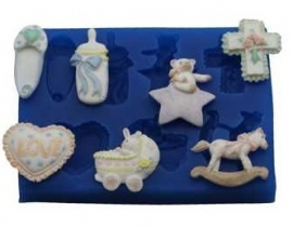 - SALE - First Impressions - Mold - Baby Set - 2 - B121