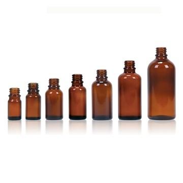 glazen flesje met dopje & druppelteller - FKD03