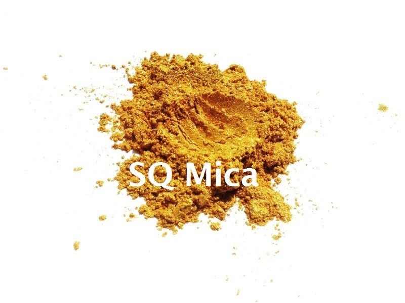 SQ Mica - Gold-yellow Special - KNM011