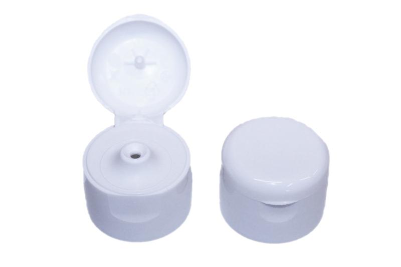 klapdop - wit - groot - 28 mm - FKD04
